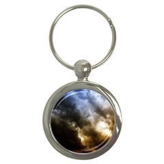 Cloudscape Key Chain (round) by artposters
