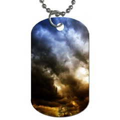 Cloudscape Twin Sided Dog Tag by artposters