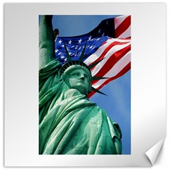 Statue Of Liberty, New York 20  X 20  Unframed Canvas Print by artposters