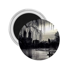 Central Park, New York Regular Magnet (round) by artposters