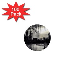 Central Park, New York 100 Pack Mini Button (round) by artposters