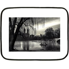 Central Park, New York Twin Sided Mini Fleece Blanket by artposters