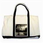 Central Park, New York Two Toned Tote Bag Front