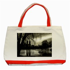 Central Park, New York Red Tote Bag by artposters