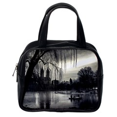 Central Park, New York Single Sided Satchel Handbag by artposters