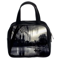 Central Park, New York Twin Sided Satchel Handbag by artposters