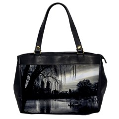 Central Park, New York Single Sided Oversized Handbag by artposters
