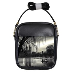 Central Park, New York Kids  Sling Bag by artposters