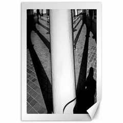 Lines 20  X 30  Unframed Canvas Print