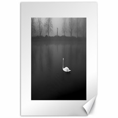 Swan 24  X 36  Unframed Canvas Print by artposters