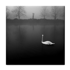 Swan Face Towel by artposters