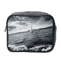 Sailing Twin Sided Cosmetic Case