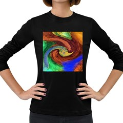 Culture Mix Dark Colored Long Sleeve Womens'' T-shirt by dawnsebaughinc