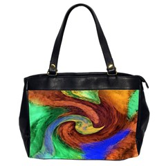 Culture Mix Twin-sided Oversized Handbag