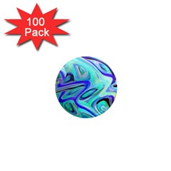 Easy Listening 100 Pack Mini Magnet (round)