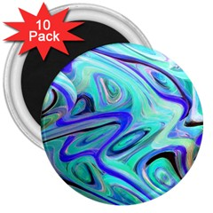 Easy Listening 10 Pack Large Magnet (round)
