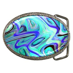 Easy Listening Belt Buckle (oval) by dawnsebaughinc