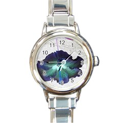 Exotic Hybiscus   Classic Elegant Ladies Watch (round)