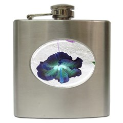 Exotic Hybiscus   Hip Flask by dawnsebaughinc