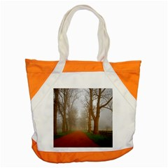 Foggy Morning, Oxford Snap Tote Bag by artposters