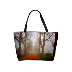 Foggy Morning, Oxford Large Shoulder Bag