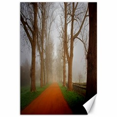Foggy Morning, Oxford 12  X 18  Unframed Canvas Print by artposters