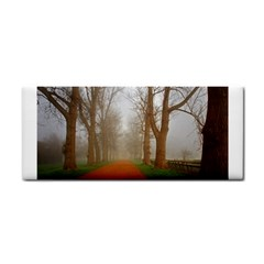 Foggy Morning, Oxford Hand Towel