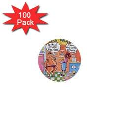 Thong World 100 Pack Mini Button (round)