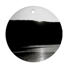 Waterscape, Oslo Ceramic Ornament (round) by artposters