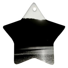 Waterscape, Oslo Twin Sided Ceramic Ornament (star) by artposters