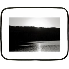 Waterscape, Oslo Twin Sided Mini Fleece Blanket by artposters
