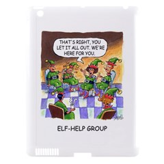 Elf Help Group Apple Ipad 3/4 Hardshell Case (compatible With Smart Cover)