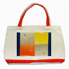 Geometry Red Tote Bag by artposters