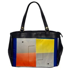 Geometry Single Sided Oversized Handbag by artposters