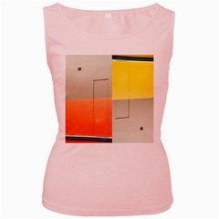 Geometry Pink Womens  Tank Top by artposters