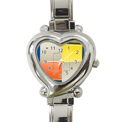 Geometry Classic Elegant Ladies Watch (heart) by artposters