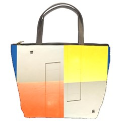 Geometry Bucket Handbag by artposters