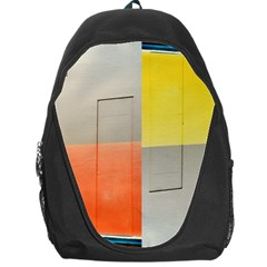 Geometry Backpack Bag by artposters