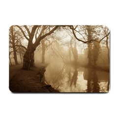 Misty Morning Small Door Mat by artposters