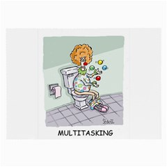 Multitasking Clown Twin Sided Handkerchief