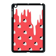 Melting White Chocolate (rose) Apple Ipad Mini Case (black)