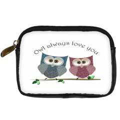 Owl Always Love You, Cute Owls Compact Camera Case