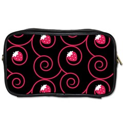 20130503 Oriental Black Single Sided Personal Care Bag by strawberrymilk