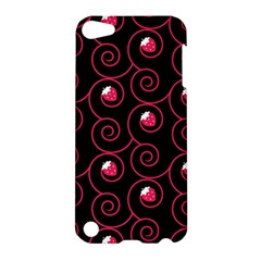20130503 Oriental Black Apple Ipod Touch 5 Hardshell Case by strawberrymilk