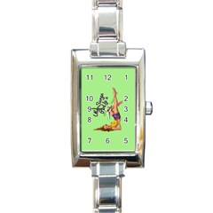 Pin Up Girl 4 Classic Elegant Ladies Watch (rectangle) by UberSurgePinUps