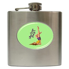 Pin Up Girl 4 Hip Flask by UberSurgePinUps
