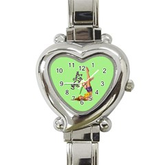 Pin Up Girl 4 Classic Elegant Ladies Watch (heart)