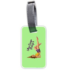 Pin Up Girl 4 Twin-sided Luggage Tag by UberSurgePinUps