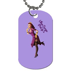 Pin Up 3 Single Sided Dog Tag by UberSurgePinUps