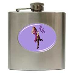 Pin Up 3 Hip Flask by UberSurgePinUps